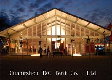 A Shaped Tent Meeting Revival Flame Retardant For Worshiping Or Praying